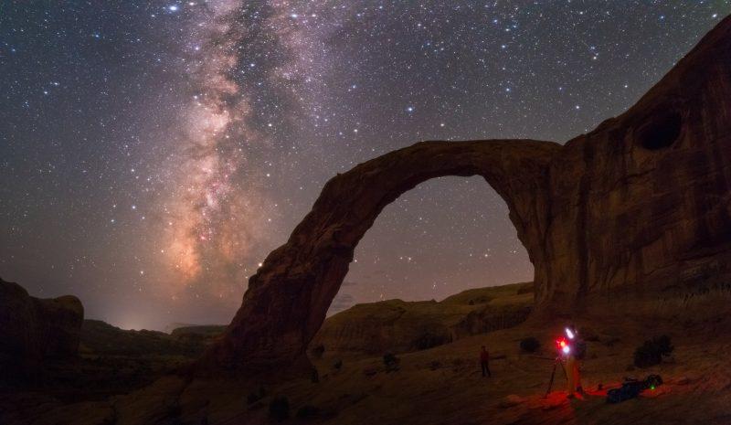 Milky Way at Corona Arch